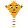 Drachen Eddy Happy Face