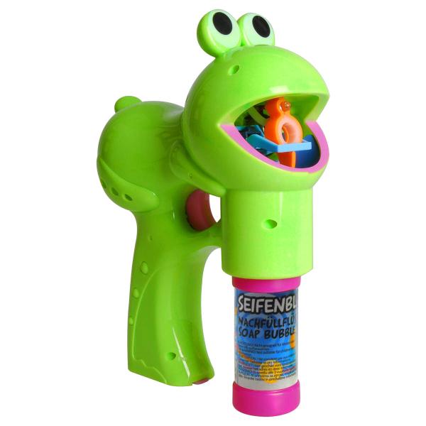 Pistolet à bulles Grenouille