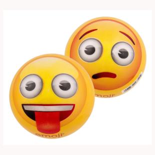 Ball Emoji klein, frech und