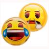 Ball Emoji klein, lachend +