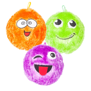 Ball Fuzzy, assortiert