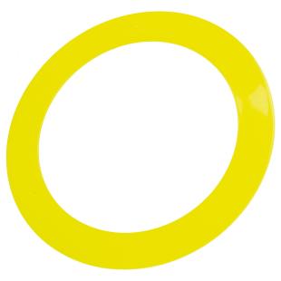 Ring Glitter gelb, ø 32 cm