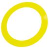 Anneau paillettes jaune