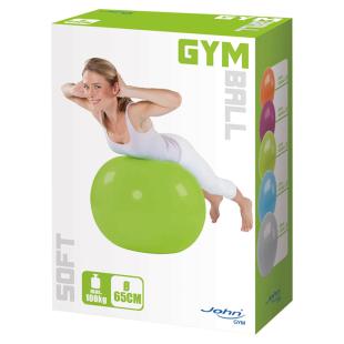Gymnastikball Soft, ø 65 cm