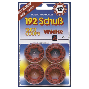 Munition 12-Schuss, 4 Dosen