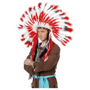 Indianer Kopfschmuck gross