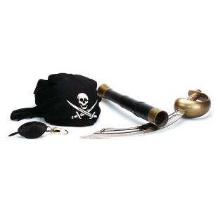 Piraten-Set, 5-teilig