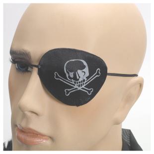 Augenklappe mit Aufdruck