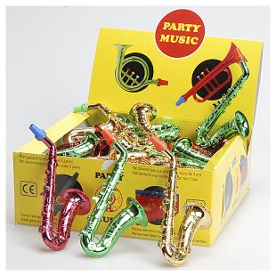 Partyinstrumente metallic