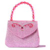 Handtasche Glitzer, rosa