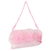 Handtasche mit Rosen, rosa