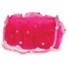 Handtasche mit Rosen, pink