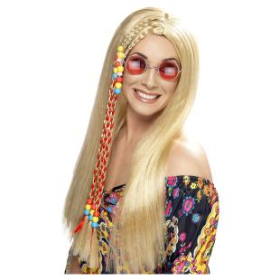 Perücke Hippie Star, blond