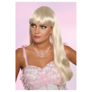 Perücke Bobline lang, blond