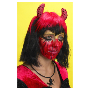 Perücke Teufel Diva