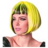 Perücke Bobline, neon-gelb