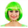 Perücke Bobline, neon-grün