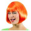 Perücke Bobline neon orange