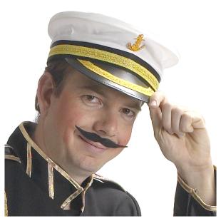 Kapitänsmütze weiss