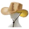 Cowboyhut Pailletten gold