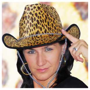 Cowboyhut Leopard