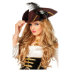 Dreispitz Piraten-Totenkopf