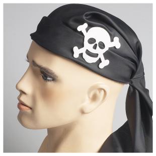 Piratenmütze schwarz