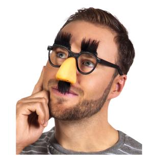 Brille mit Nase, Augenbrauen