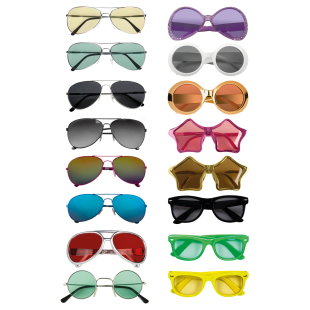 Brille assortiert