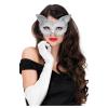 Maske Katze, grau