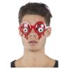Brille blutige Augen