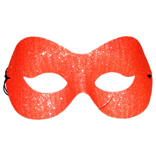 Loup Glitter, orange