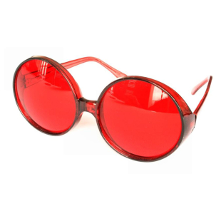Brille Show Star, rot