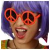 Brille Peace, orange