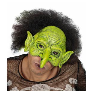 Maske Troll grün