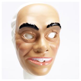 Maske Junger Mann, Plastik