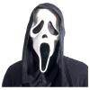 Maske Scream mit Tuch