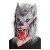 Maske Werwolf mit Fell