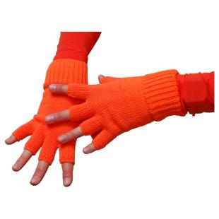 Handschuhe neon-orange