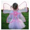 Flügel mit Licht pink