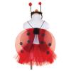 Marienkäferkleid, 4-7 Jahre