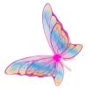 Elfenflügel Glitzer-Rainbow