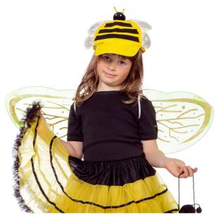 Flügel und Diadem Biene