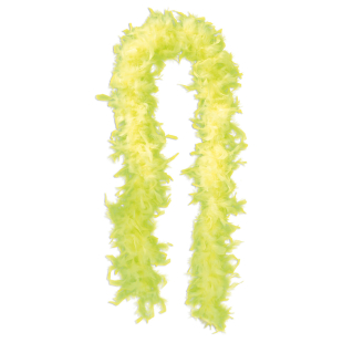 Federboa neongelb