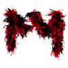 Federboa rot-schwarz Deluxe