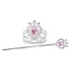 Krone und Prinzessinnenstab