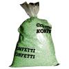 Konfetti 10 kg, gr�n