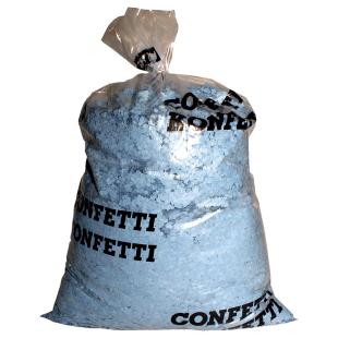 Konfetti 10 kg, blau