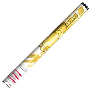 Konfetti-Luftkanone gold