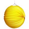 Lampion gelb, rund, ø 25 cm